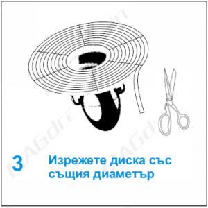 MAGdrain Bulgaria монтиране на универсален диск